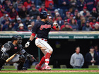 Brantley lifts Indians to 2-1 win in home opener