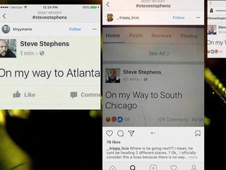 Social media users impersonate Facebook killer