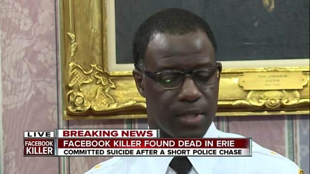 Suspect in Facebook video murder kills self in Pennsylvania