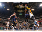 Cavs sweep Pacers 106-102 in Game 4