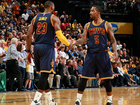 Cavs sweep Pacers 106-102 in Game four