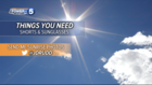 WEATHER: Near record highs today