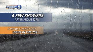 WEATHER: Latest timing on rain for today