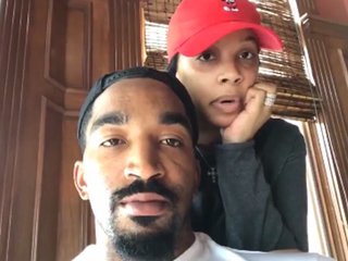 J.R. Smith buys flowers for moms in NICU unit