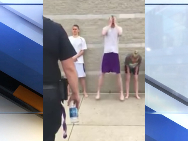Viral video shows teens getting pepper sprayed for class