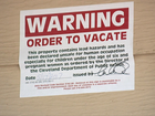 CLE residents complain about lead vacate notice