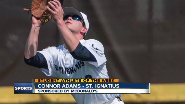 Student Athlete of the Week- Connor Adams
