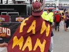 PHOTOS: Cavs fans show true colors at The Q
