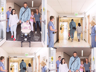 J.R. Smith and wife bring home baby Dakota