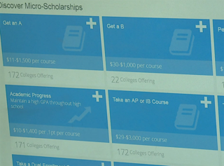 Website makes it easier to get scholarships