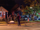 Arson suspected in Cleveland house fire
