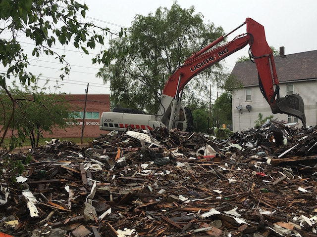 Demolition of abandoned homes near schools in Cleveland is on the fast track