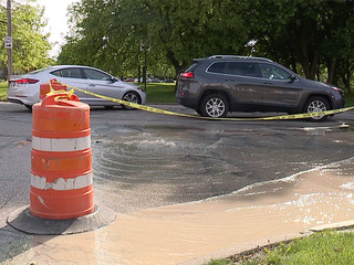 Water wasted for weeks near Fairmount Circle