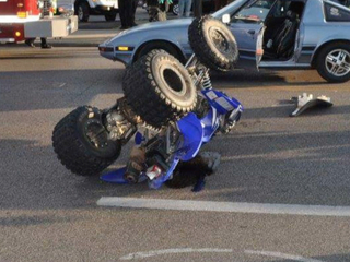 CLE ATV accident causes chase policy examination