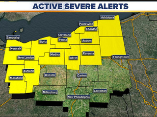 Severe Thunderstorm Watch issued for NEO
