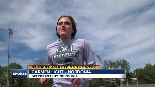 Student Athlete of the Week- Carmen Licht
