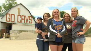 Iconic 'Cavs Barn' a family affair in Medina Co.