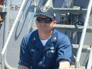 Family of Navy sailor said he died a hero