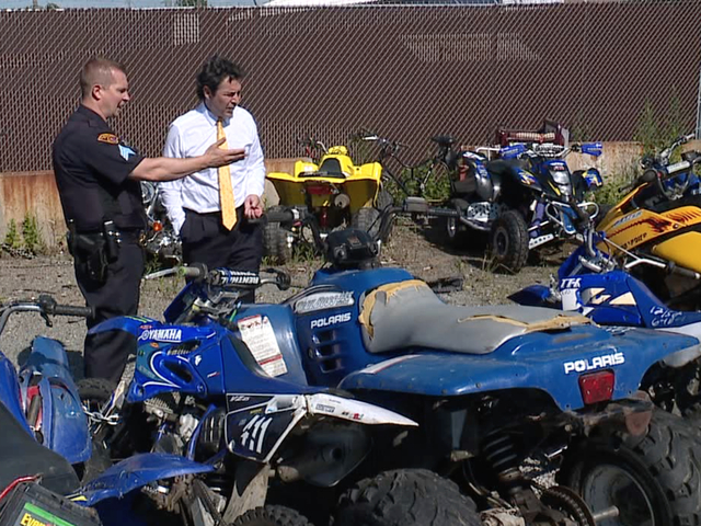 Cleveland Police Conduct Sting On Illegal Atvs Dirt Bikes At City