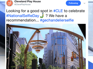5 CLE selfies you'll see on Nat'l Selfie Day