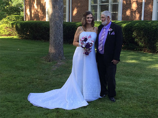 NEO vendors give dying man his dream wedding