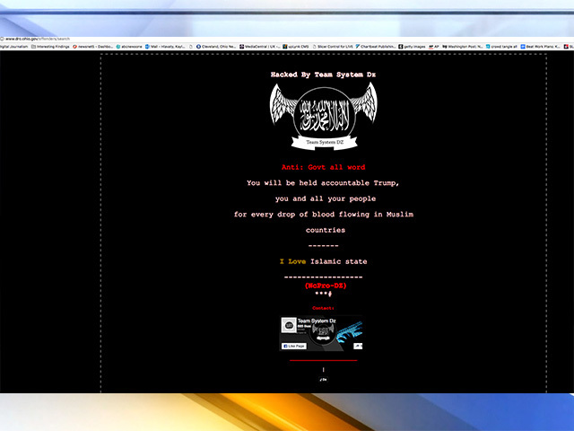 Government websites hacked with pro-Islamic State rant