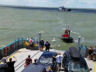 VIDEO: Miller Ferry assists in boat rescue