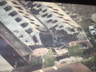 Building collapsed after overnight fire