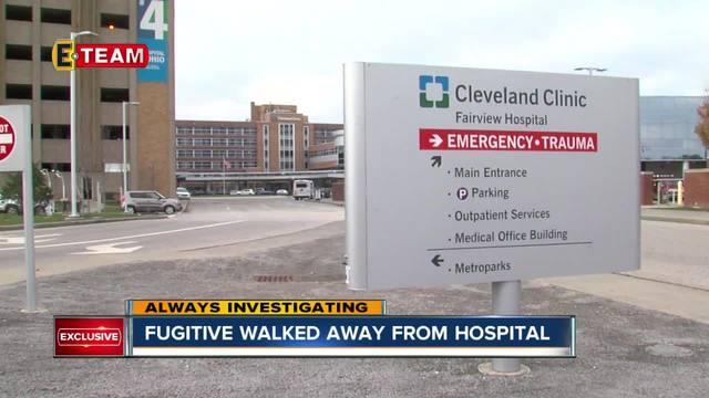 Fugitive escapes medical furlough