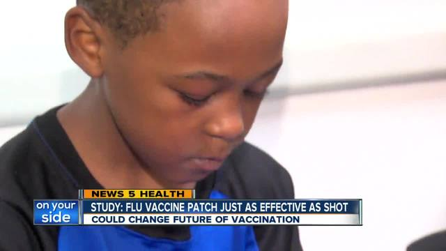 Flu patch could replace vaccination shots