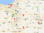 Thousands without power Thursday night