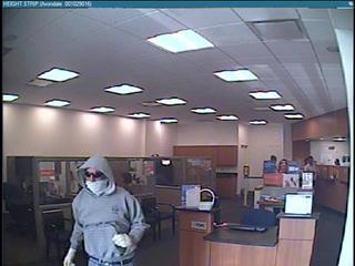 Suspect in 2 Stark Co robberies had white gloves