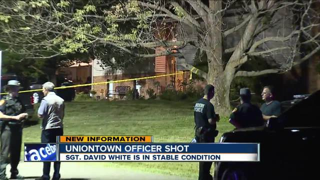 OH officer shot responding to domestic call; Arrest made