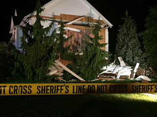 Cause of house explosion under investigation