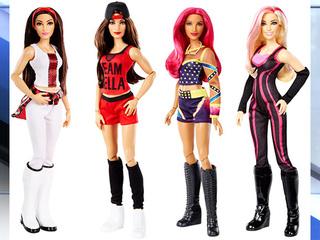 Mattel, WWE release Superstars female dolls