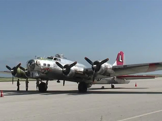 B-17 bomber is a reminder of sacrifices of WWII