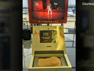 CPR training kiosk debuts at Hopkins airport