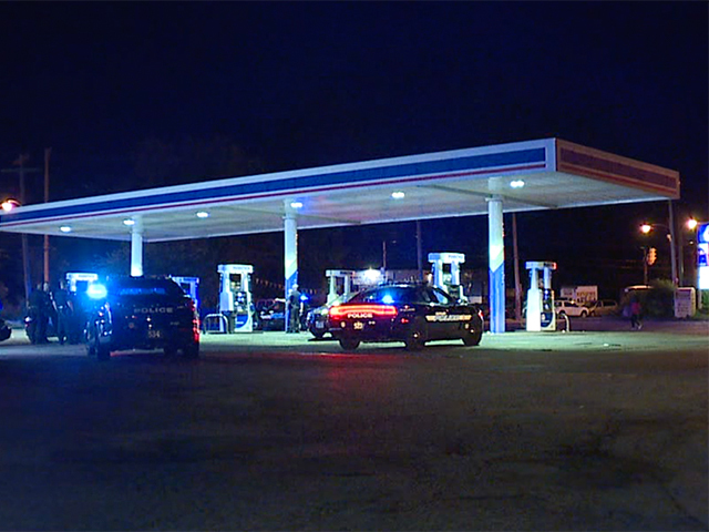 Image result for One person in critical condition after shooting at Marathon gas station