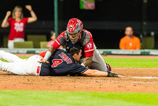 Indians beat Angels at home Wednesday
