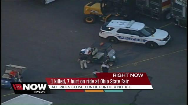 Rides at Ohio State Fair closed while investigators look into accident…