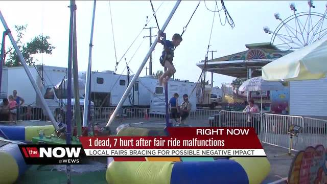 Some rides reopening at OH  fair after death