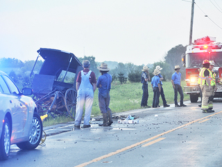 One seriously injured in buggy hit-skip