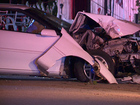 Police: Driver overdosed, crashed into pole