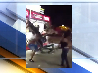 Large fight at Richland Co. fairgrounds