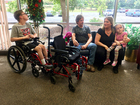 Student-designed wheelchair changes kids' lives