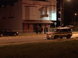 1 dead, 4 injured in fight and shooting at bar