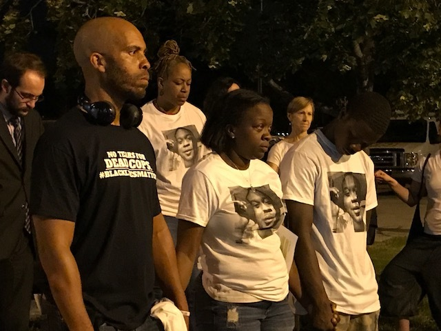 Protesters want justice in police incidents
