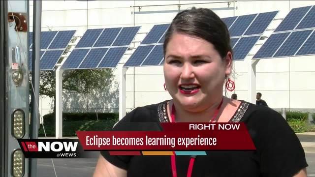Solar Eclipse Day at MC2 Stem School-