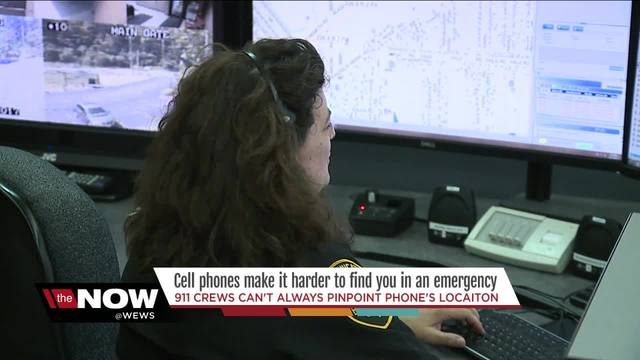 A warning from 911 dispatchers- -Give your location first--