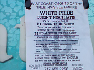 Rally planned after Klan fliers found in Wooster